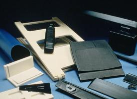 Blow molded parts for manufacturing